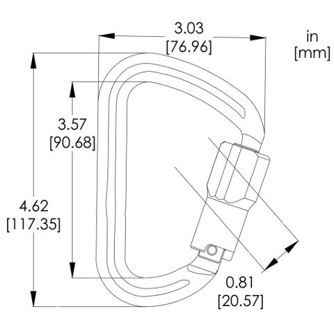 A847PS Locksafe (Triple Action Lock)   Pensafe Inc. ™
