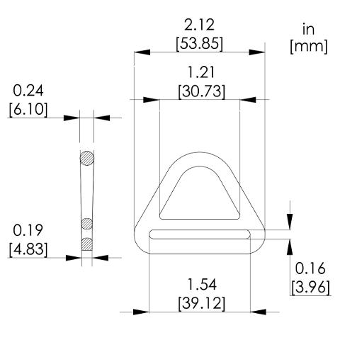 1038 Tri D-Ring | Pensafe Inc. ™