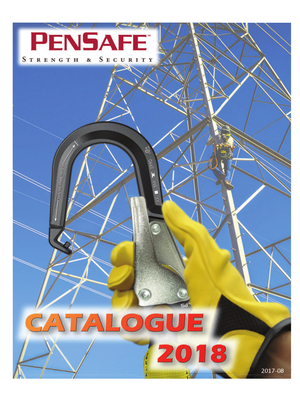 2018 Pensafe Product Catalogue